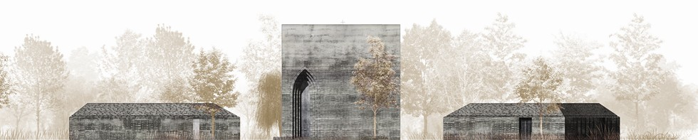 Architektura sakralna - projekt kaplicy św. Wojciecha w Fiszewie