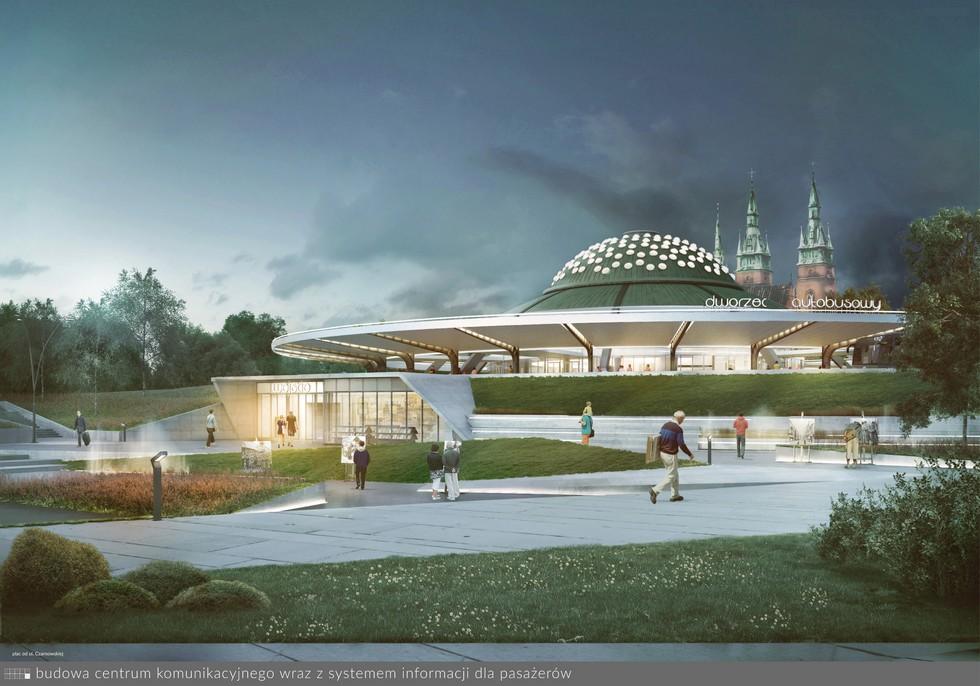 Wyniki konkursu na modernizację i rozbudowę dworca autobusowego w Kielcach