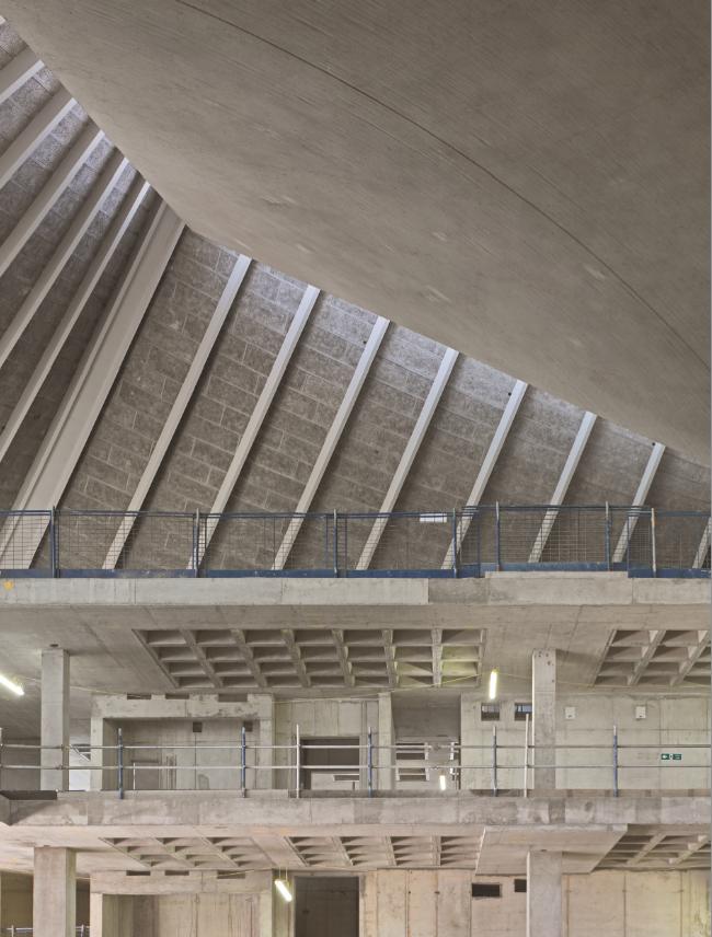 Muzeum Dizajnu w Londynie, przebudowa wnętrz