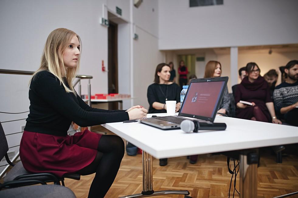 """Redaktor ds. studenckich """"A-m"""", koordynator warsztatów Beata Tylec"""