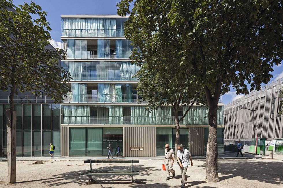 Zespół mieszkań socjalnych Montmartre Wintergarden Housing