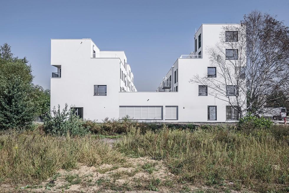 Typologia Osiedla Rodzinnego to połączenie budynku wielorodzinnego i szeregowego