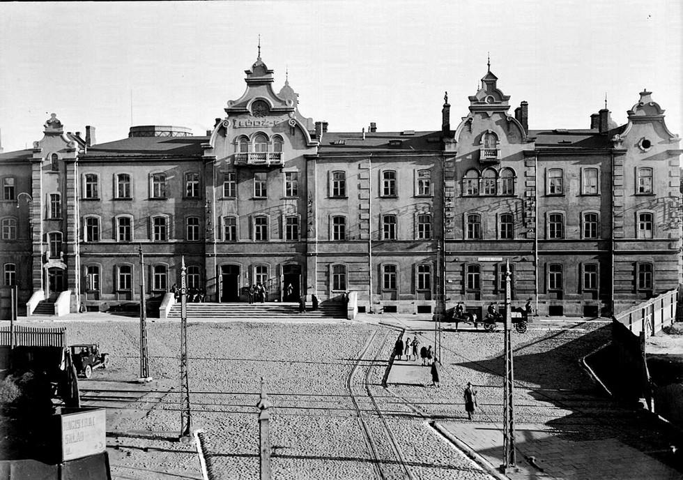 Łódź Fabryczna w latach 30. XX w.