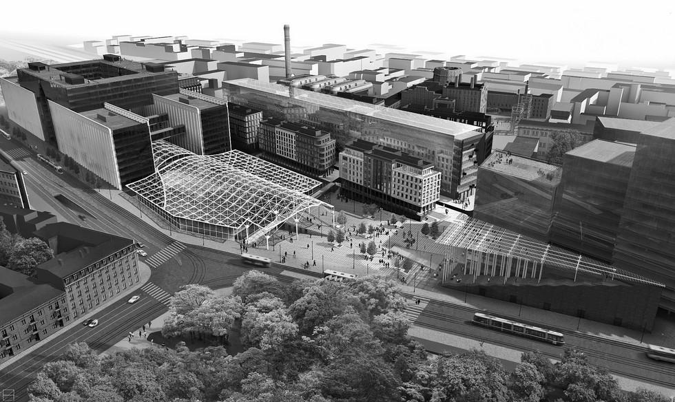 Łódź Fabryczna, projekt