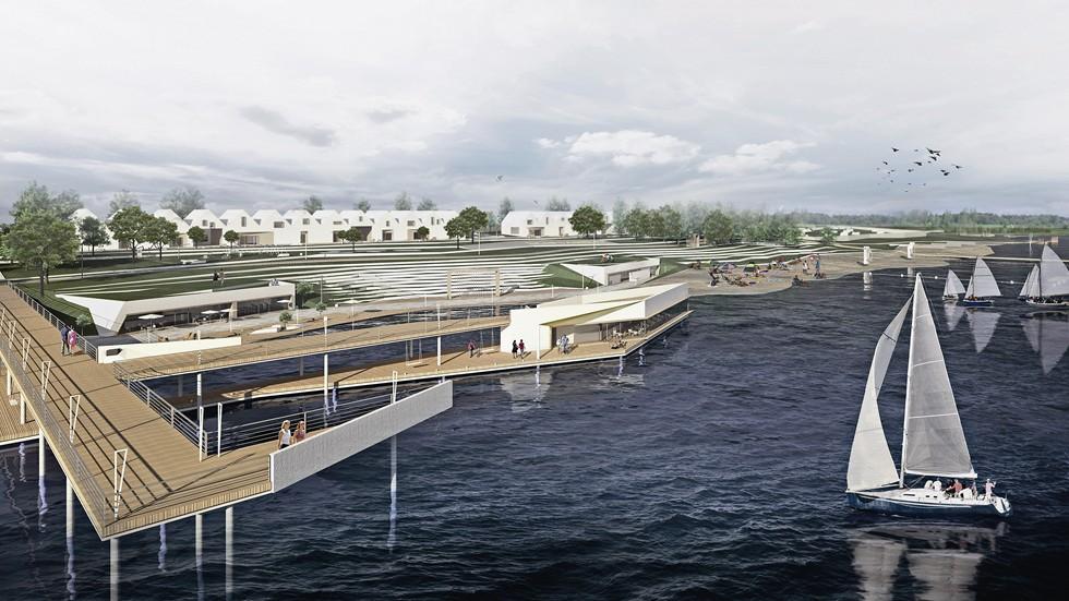 Zagospodarowanie terenu wokół zalewu Lubianka. Projekt