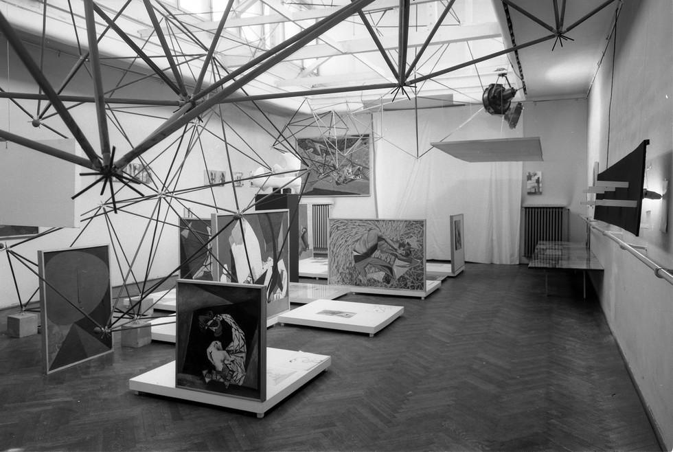 Oskar i Zofia Hansenowie w Muzeum Sztuki Nowoczesnej w Warszawie