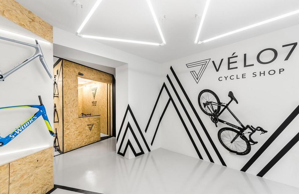 Sklep rowerowy VEL07