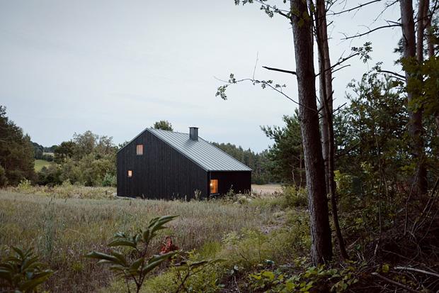 Dom na Kaszubach, autor: Grzegorz Layer