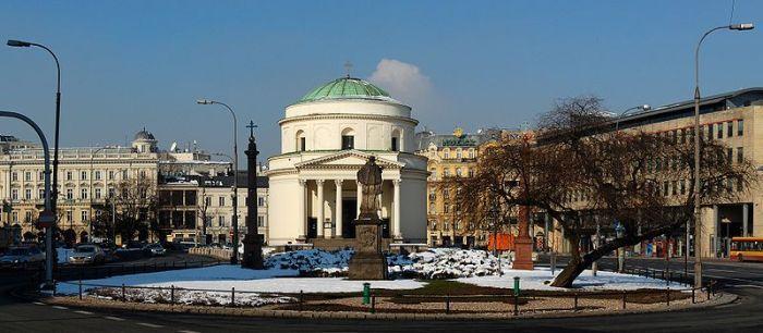Plac Trzech Krzyży w Warszawie