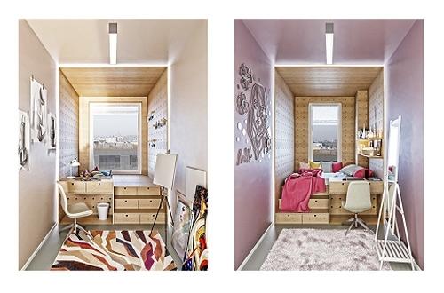 Studenci zaprojektowali jednostkę mieszkalną w akademiku Livinn Kraków!