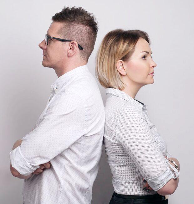 Tomasz Słomka oraz Marta Kilan, właściciele TOKA+HOME