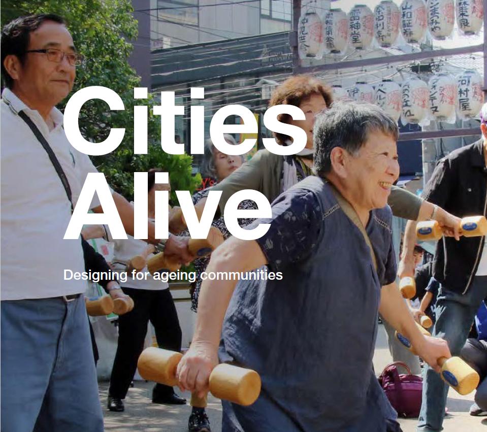 Miasta dla seniorów – raport ARUP. Jak projektować przestrzeń miejską, by odpowiadała potrzebom starzejącego się społeczeństwa.