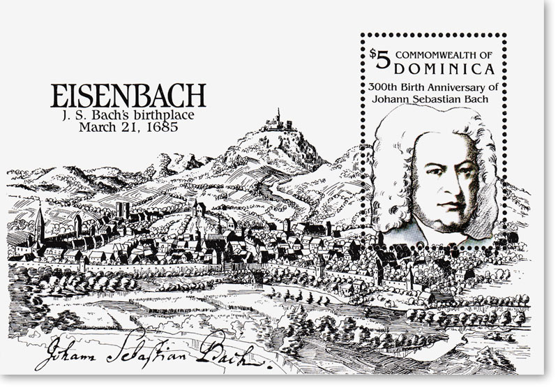 Bach znaczek