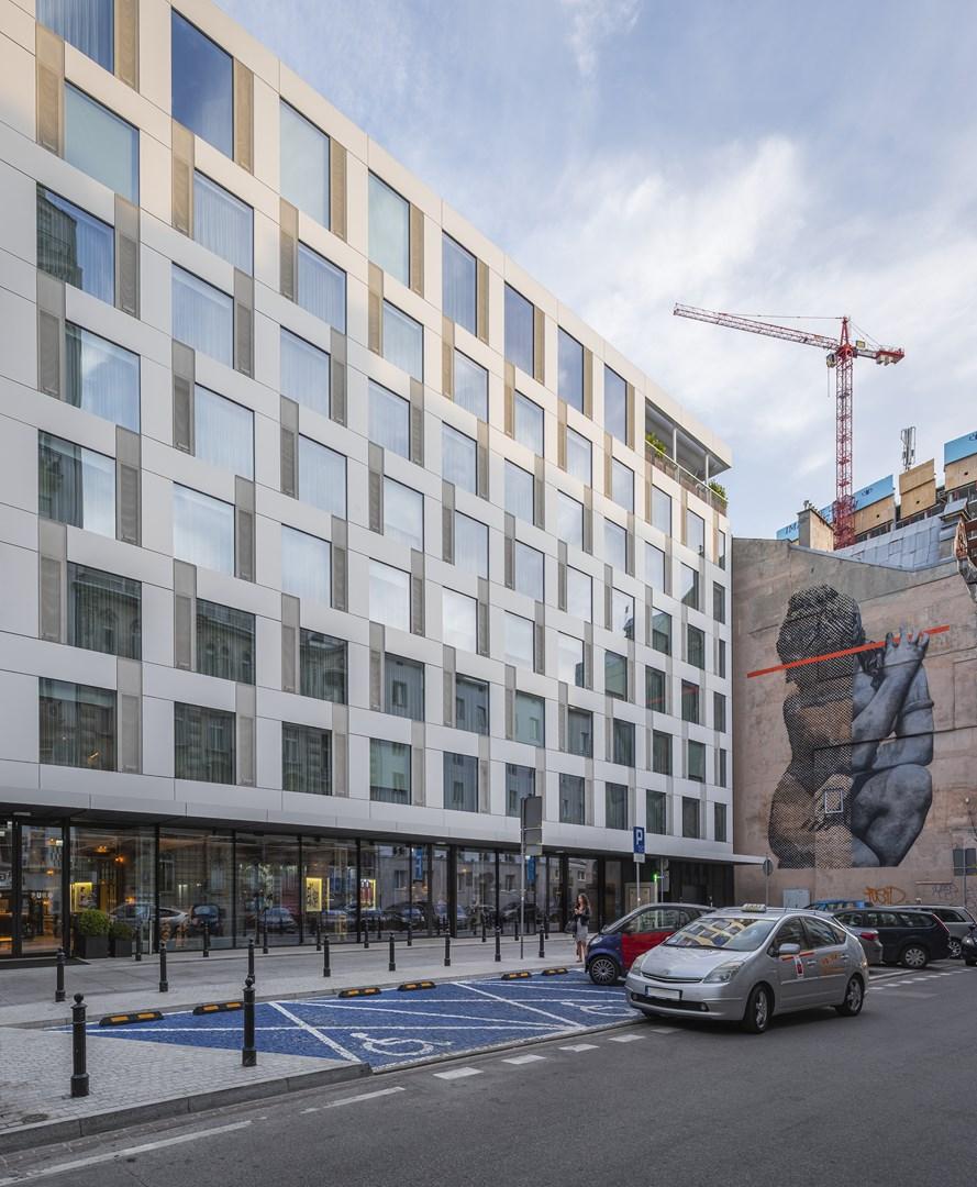 PURO Warszawa Centrum projektu JEMS Architekci
