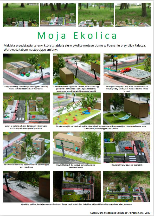 Eko Przestrzeń, Eko Pomysł, Eko Ja – konkurs dla uczniów szkół podstawowych i średnich: wyniki