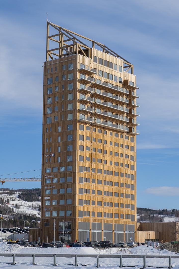 Najwyższe budynki z drewna: 5 najwyższych budynków drewnianych na świecie
