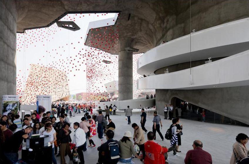 Pawilon narodowy Szwajcarii na Expo 2010
