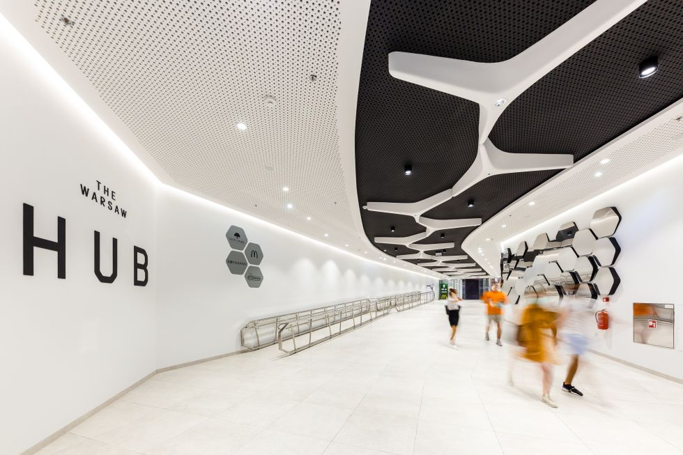 The Warsaw HUB: kompleks wieżowców projektu AMC Andrzej M. Chołdzyński