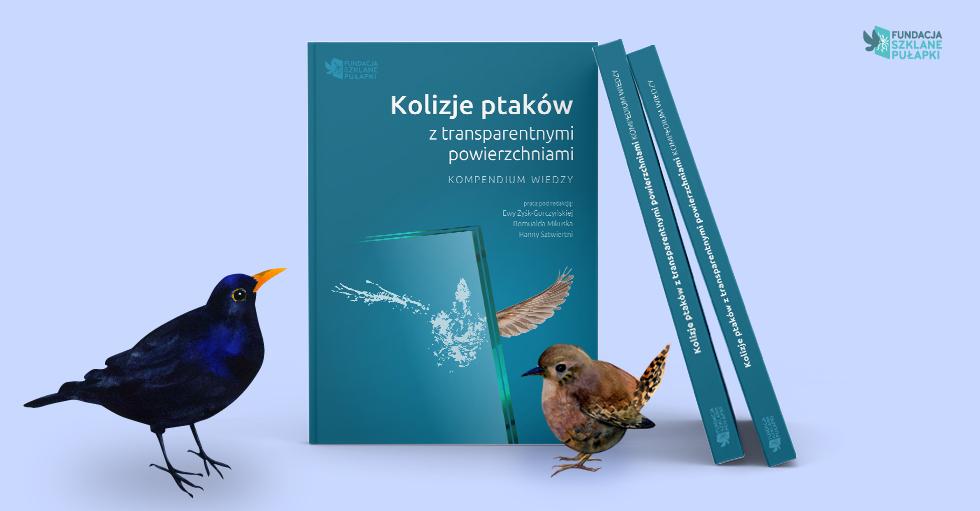 """Kompendium """"Kolizje ptaków z transparentnymi powierzchniami"""" do pobrania za darmo!"""