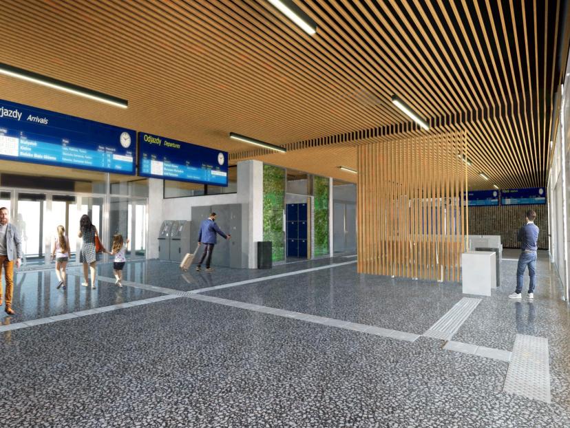 Dworzec kolejowy w Kielcach: rusza zapowiadana od lat modernizacja dworca PKP w Kielcach
