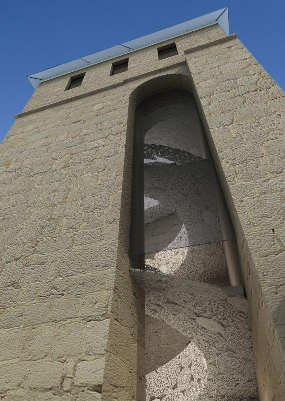 Wieża Skrivanat w Pag, Chorwacja