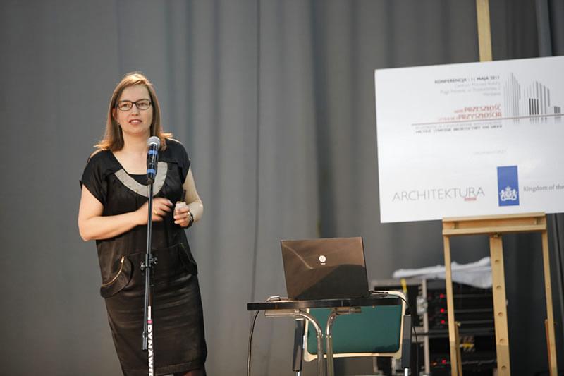 Konferencja Architektury-murator i Ambadsady Holandii - Warszawa 2011