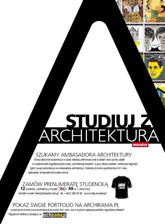 "STUDIUJ Z ""Architekturą-murator"""