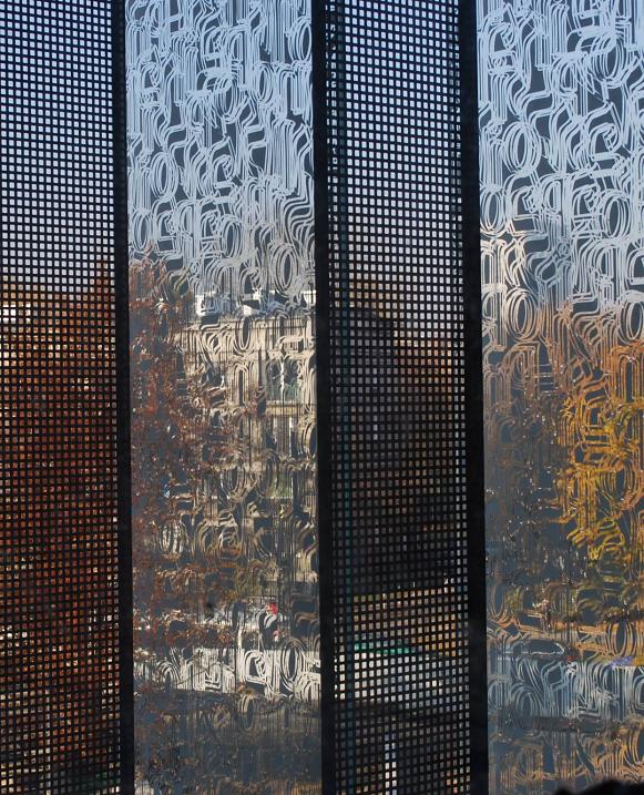 Miedź na fasadzie w budynku Muzeum Historii Żydów Polskich