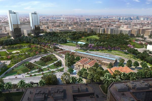 Valencia Parque Central, Future Project Awards 2012, proj. GustafsonPorter