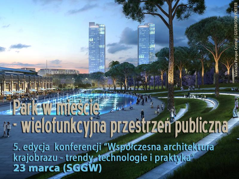 Stowarzyszenie Architektury Krajobrazu Współczesna Architektura Krajobrazu V