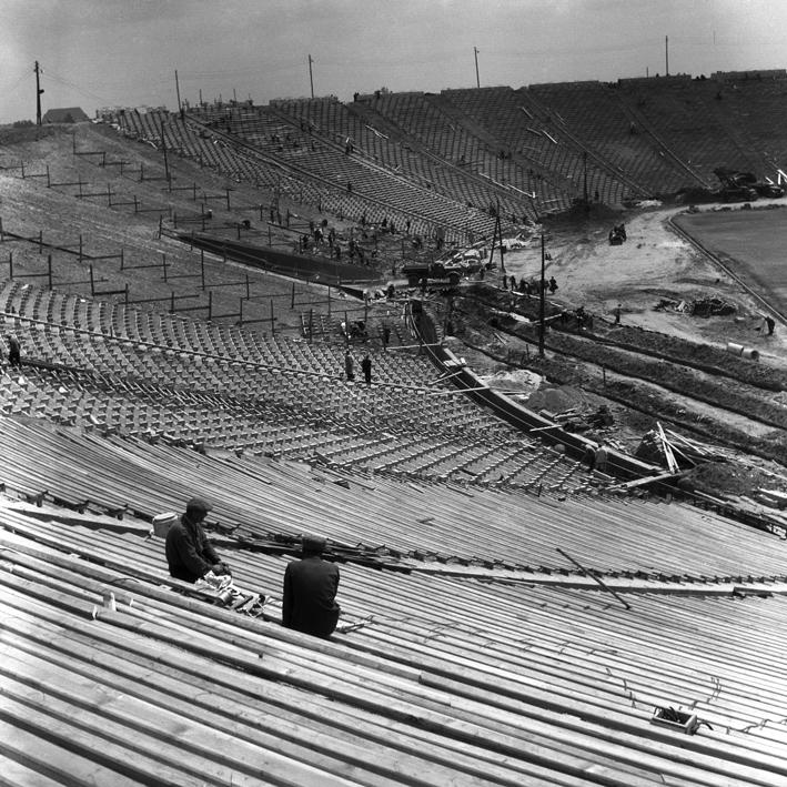 Stadion Dziesięciolecia 1955