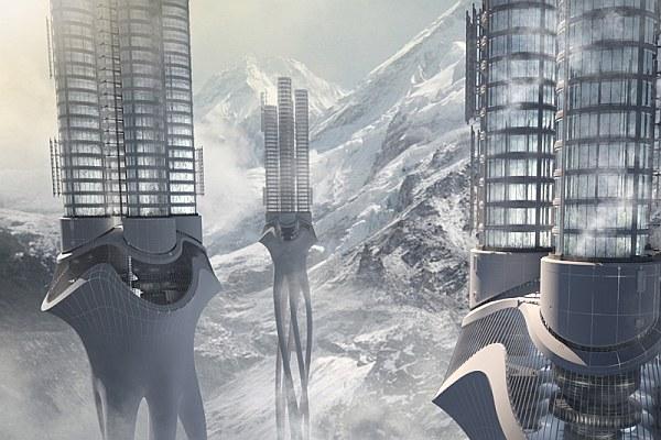 Himalaya Towers - pierwsza nagroda w konkursie