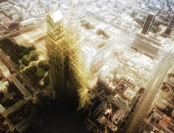 Wieża Babel, proj. Maciej Nisztuk