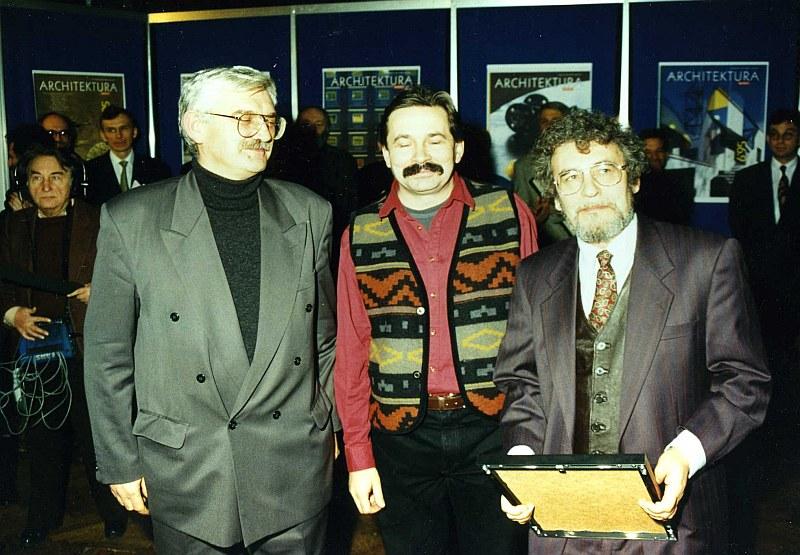Autorzy Ulubieńca Warszawy (od lewej): Andrzej Ryba, Tomasz Kazimierski, Derek Frazer