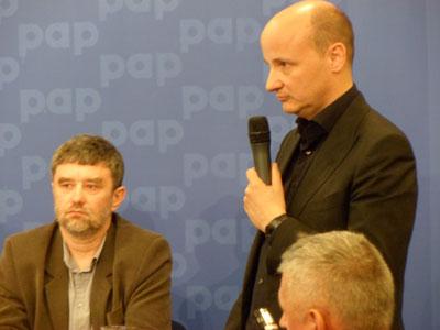 Christian Kerez - konferencja w siedzibie PAP