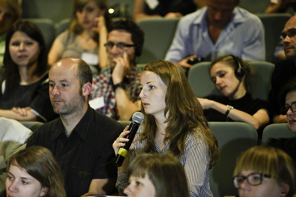 Dyskusja w czasie konferencji Idealny Zespół Mieszkaniowy