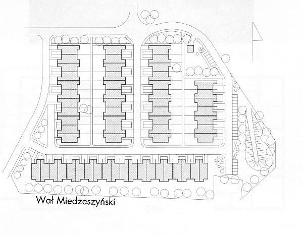 Zespół domów jednorodzinnych na Saskiej Kępie