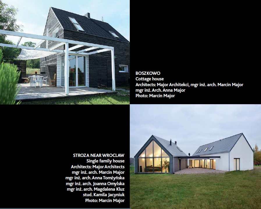 Wystawa V4 family houses 2013