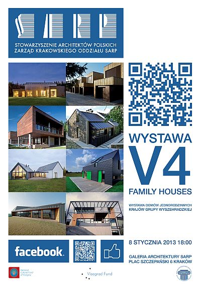 V4 family houses 2013 wystawa