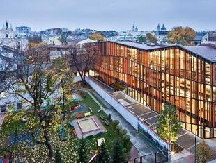 Nagroda Architizer A+ Popular Choice Award dla projektu Małopolskiego Ogrodu Sztuki w Krakowie
