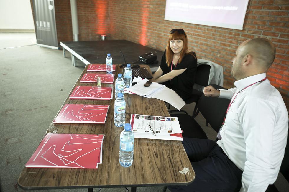 Anna Żmijewska, koordynator spotkania Młodzi do Łodzi 2013