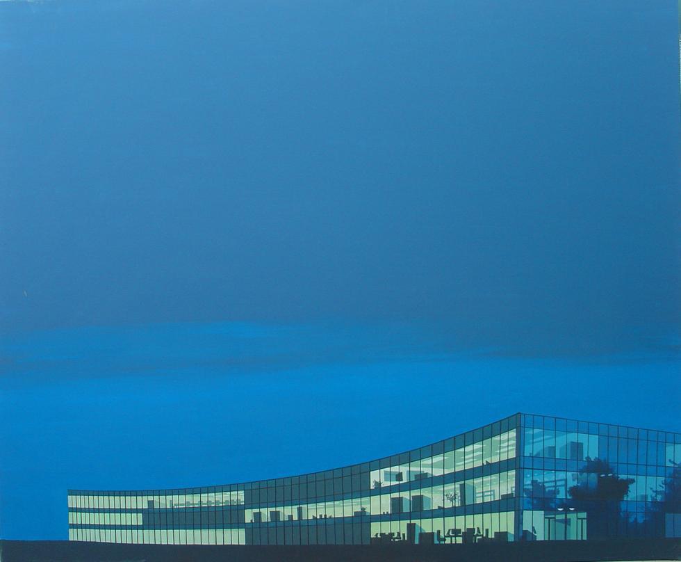 Anna Reinert, The sky is blue, 2007. Muzeum Architektury we Wrocławiu