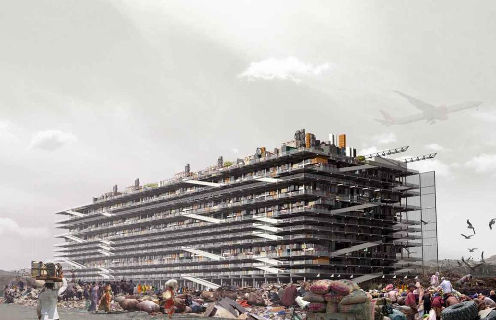Segregacja śmieci i nowa architektura - projekt Hugona Kowslaskiego