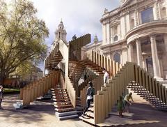 Co zobaczyć w Londynie? Współczesna architektura na Festiwalu Dizajnu: Nieskończone Schody
