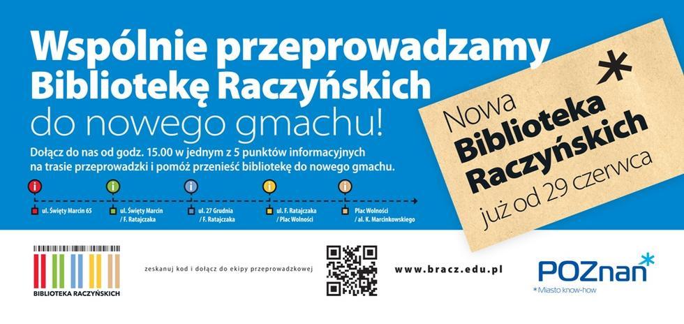 Biblioteka Raczyńskich: wielka przeprowadzka
