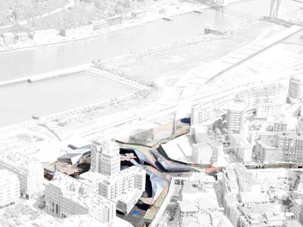 Plac Pormetxeta, schemat. Fot. ©SURAVIA,S.A, materiały prasowe Mies van der Rohe Foundation