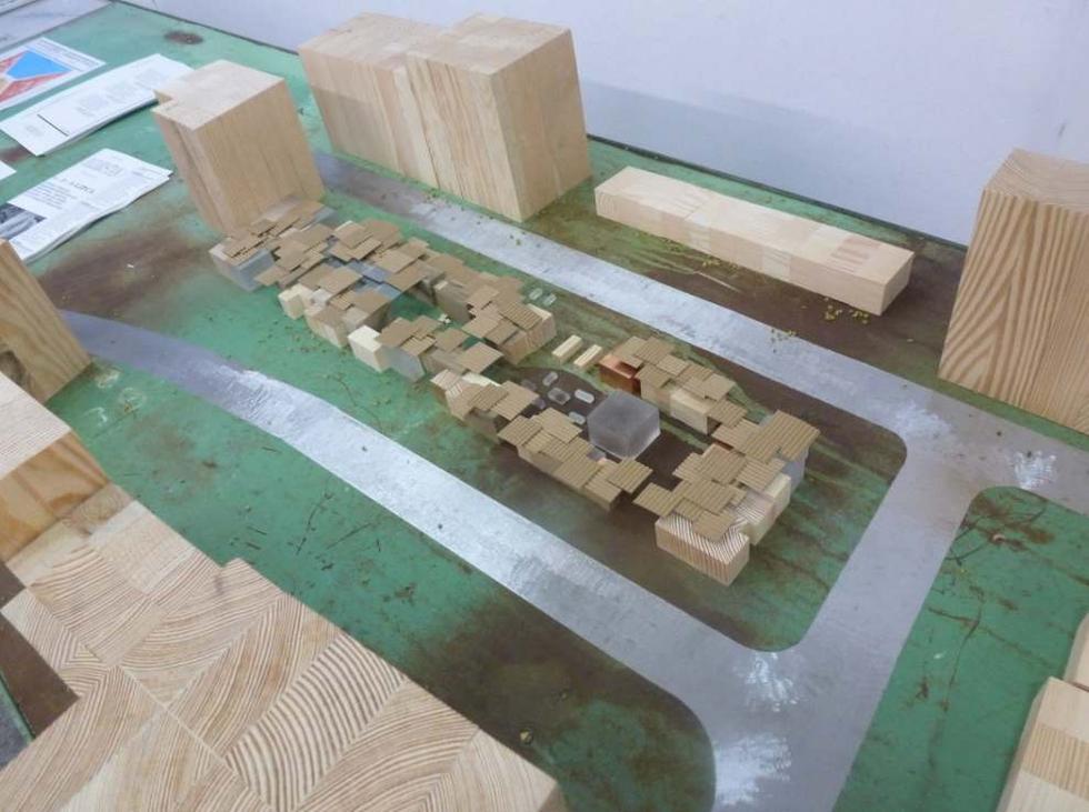 Bazaristan: makieta. Projekt przebudowy targowiska na Nadodrzu we Wrocławiu