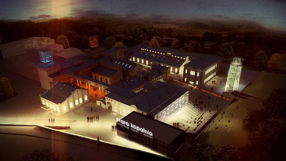 Rewitalizacja kopalni Julia w Wałbrzychu. Fot. Nizio Design International