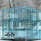 Szklany dom - Glass house. Projekt: Carlo Santambrogio, Ennio Arosio. Fot. www.santambrogiomilano.it