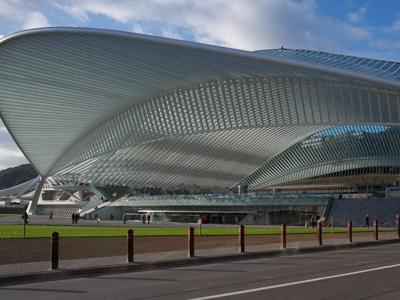 Dworzec kolejowy Liège-Guillemins TGV Station